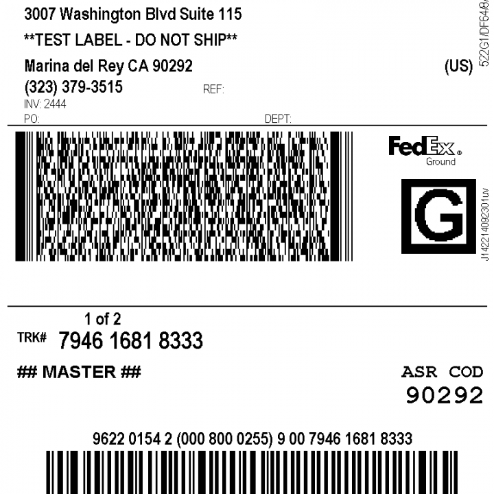 Mesmerizing image with regard to printable fedex shipping labels
