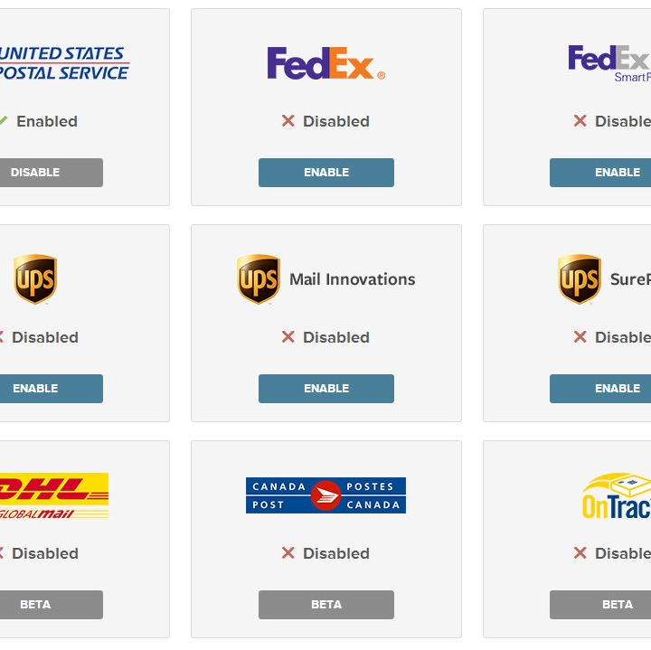 USPS, FedEx, UPS, DHL Shipping Labels WooCommerce